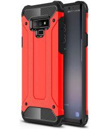 Samsung Galaxy Note 9 Hybride Hoesje Rood