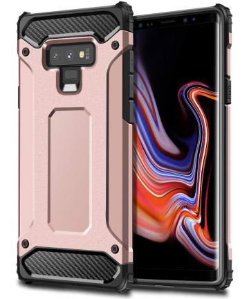 Samsung Galaxy Note 9 Hybride Hoesje Roze Goud Hoesjes