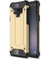 Samsung Galaxy Note 9 Hybride Hoesje Goud