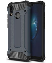 Huawei P20 lite Hybride Hoesje Blauw