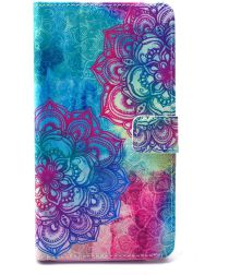 Samsung Galaxy Note 4 Portemonnee Hoesje met Mandala Print