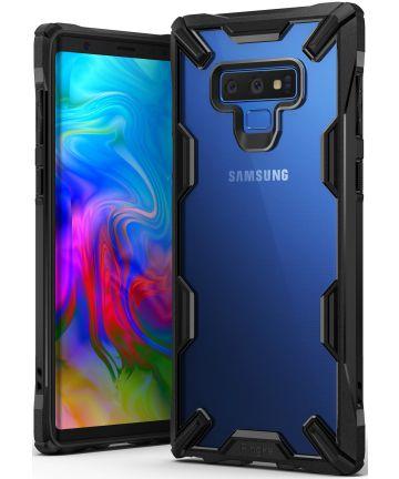 Ringke Fusion X Samsung Galaxy Note 9 Hoesje Doorzichtig Zwart Hoesjes