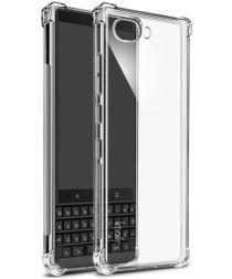 BlackBerry Key2 TPU Hoesje met Display Folie Transparant