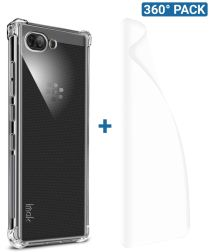 IMAK BlackBerry KEY2 Hoesje TPU met Screenprotector Transparant