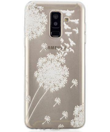 Samsung Galaxy A6 Plus TPU Hoesje Dandelion Hoesjes