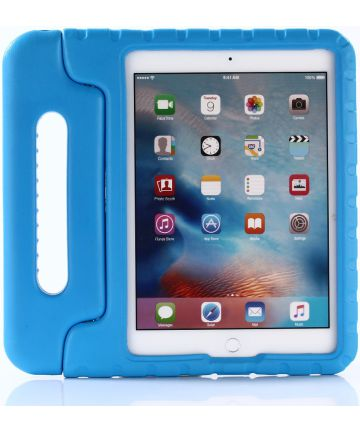 Apple iPad 9.7 2017 / 2018 / Air / Air 2 Kinder Tablethoes Blauw Hoesjes