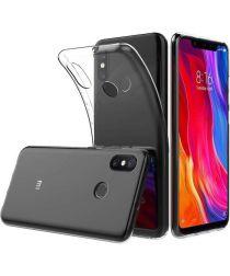 Xiaomi Mi 8 Hoesje Dun TPU Transparant