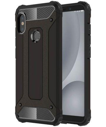 Xiaomi Redmi Note 5 Hybride Hoesje Zwart