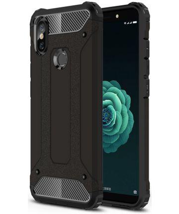Xiaomi Mi A2 Hybride Hoesje Zwart