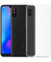 Xiaomi Mi A2 Lite Hoesje Dun TPU Transparant