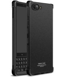 BlackBerry Key2 TPU Hoesje met Display Folie Matte Zwart