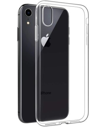 Apple iPhone XR Hoesje Dun TPU Transparant