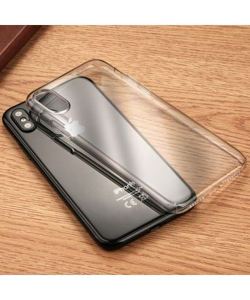Apple iPhone XS Max Hard Case Transparant Hoesjes