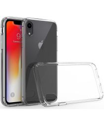 Apple iPhone XR Hoesje Armor Back Cover Transparant