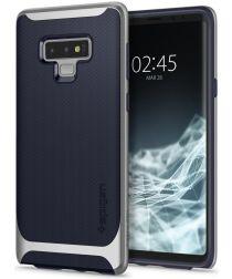 Spigen Neo Hybrid Hoesje Samsung Galaxy Note 9 Arctic Silver