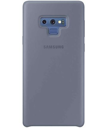 Samsung Galaxy Note 9 Silicone Cover Blauw Origineel Hoesjes