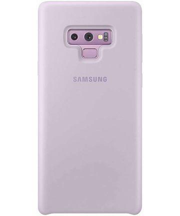 Samsung Galaxy Note 9 Silicone Cover Paars Origineel Hoesjes