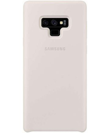 Samsung Galaxy Note 9 Silicone Cover Wit Origineel Hoesjes