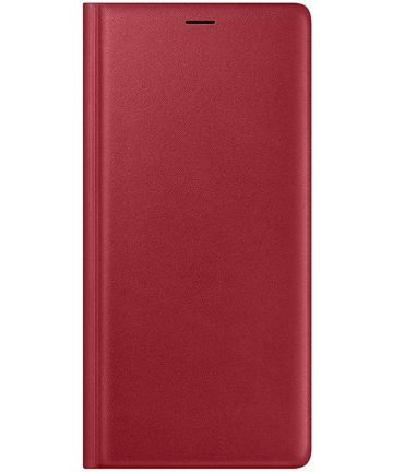 Origineel Samsung Galaxy Note 9 Portemonnee Hoesje Rood