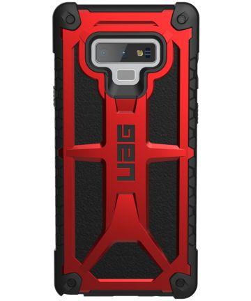 UAG Monarch Hoesje Samsung Galaxy Note 9 Crimson
