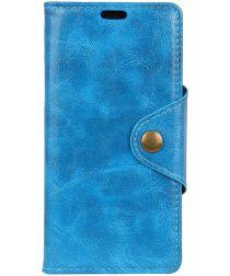 Huawei P Smart Plus Portemonnee Hoesje Blauw