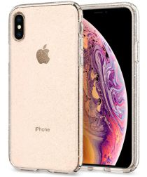 Spigen Liquid Crystal Apple iPhone XS Hoesje Glitter Quartz