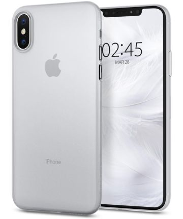 Spigen AirSkin Apple iPhone XS Case Clear Hoesjes