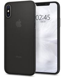 Spigen AirSkin Apple iPhone XS Case Black