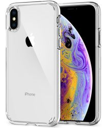 Spigen Ultra Hybrid Case Apple iPhone XS Crystal Clear