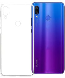 Origineel Huawei P Smart Plus TPU Hoesje Transparant