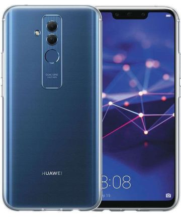 Origineel Huawei Mate 20 Lite TPU Hoesje Transparant Hoesjes