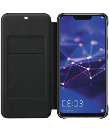 Huawei Mate 20 Lite Originele Flip Cover Zwart Hoesjes
