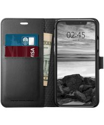 Spigen Wallet S Flip Case Apple iPhone XS Black