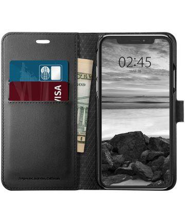 Spigen Wallet S Flip Case Apple iPhone XS Black