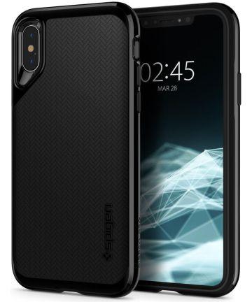 Spigen Neo Hybrid Hoesje Apple iPhone XS Jet Black