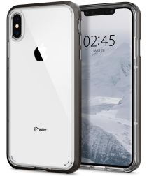 Spigen Neo Hybrid Crystal Case iPhone XS Gunmetal