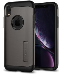 Spigen Slim Armor Hoesje Apple iPhone XR Gunmetal