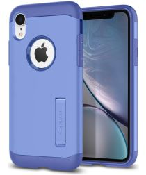 Spigen Slim Armor Hoesje Apple iPhone XR Violet