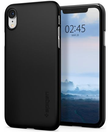 Spigen Thin Fit Case Apple iPhone XR Black Hoesjes