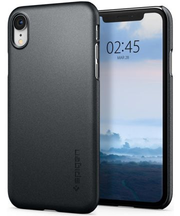 Spigen Thin Fit Case Apple iPhone XR Graphite Grey