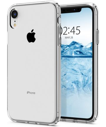 Spigen Liquid Crystal Apple iPhone XR Hoesje Crystal Clear