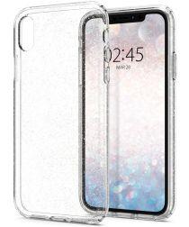 Spigen Liquid Crystal Apple iPhone XR Hoesje Crystal Glitter Quartz