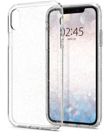Spigen Liquid Crystal Apple iPhone XR Hoesje Crystal Glitter Quartz Hoesjes
