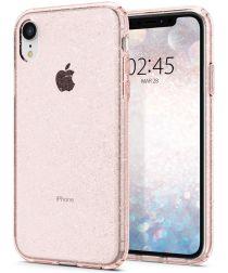 Spigen Liquid Crystal Apple iPhone XR Hoesje Crystal Glitter Rose