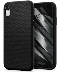 Spigen Liquid Air Hoesje Apple iPhone XR Matte Black