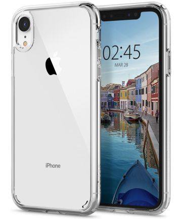 Spigen Ultra Hybrid Hoesje Apple iPhone XR Crystal Clear
