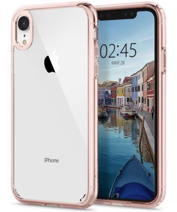 Spigen Ultra Hybrid Hoesje Apple iPhone XR Rose Crystal