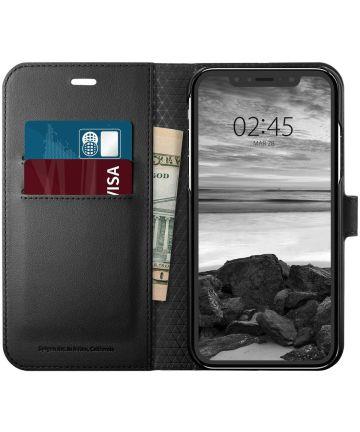 Spigen Wallet S Book Case Apple iPhone XR Zwart