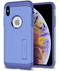 Spigen Slim Armor Hoesje Apple iPhone XS Max Violet
