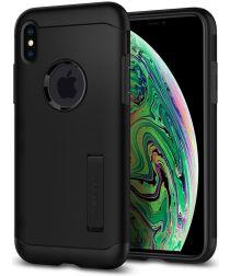 Spigen Slim Armor Hoesje Apple iPhone XS Max Black